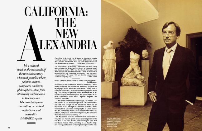 CALIFORNIA: THE NEW ALEXANDRIA