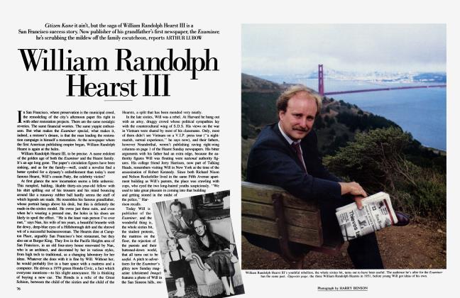 Article Preview: William Randolph Hearst III, November 1985 1985 | Vanity Fair