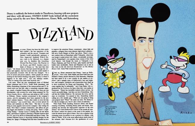 Article Preview: DIZZYLAND, November 1985 | Vanity Fair