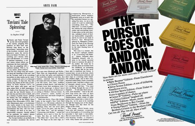 Article Preview: Taviani Tale Spinning, November 1985 1985 | Vanity Fair