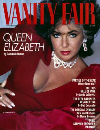 December 1985 | Vanity Fair