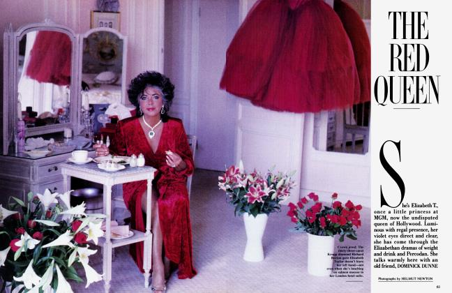 Article Preview: THE RED QUEEN, December 1985 1985 | Vanity Fair