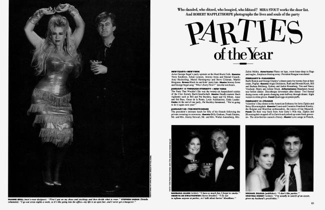 Article Preview: PARTIES of the Year, December 1985 1985 | Vanity Fair