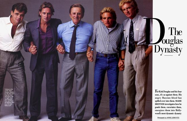 Article Preview: The Doglas Dynasty, December 1985 1985 | Vanity Fair