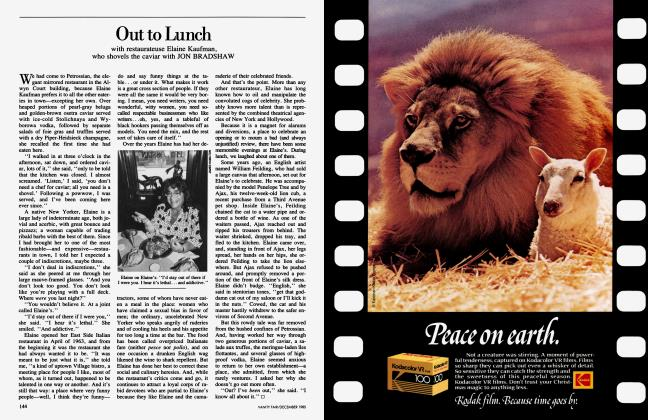 Article Preview: Out to Lunch, December 1985 1985 | Vanity Fair