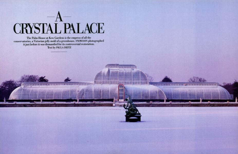 A CRYSTAL PALACE