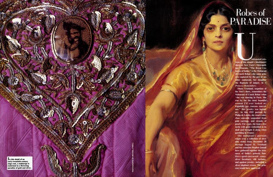 Robes of paradish