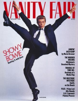 January 1986 | Vanity Fair