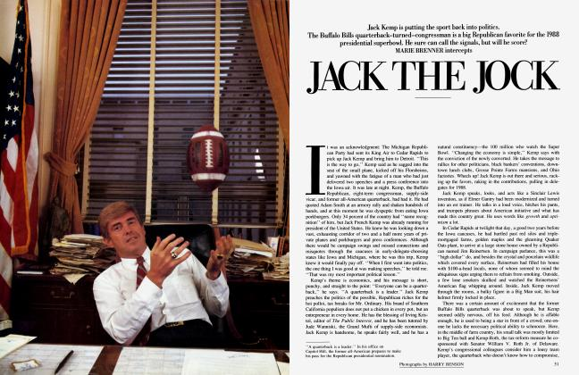 Article Preview: JACK THE JOCK, January 1986 1986 | Vanity Fair