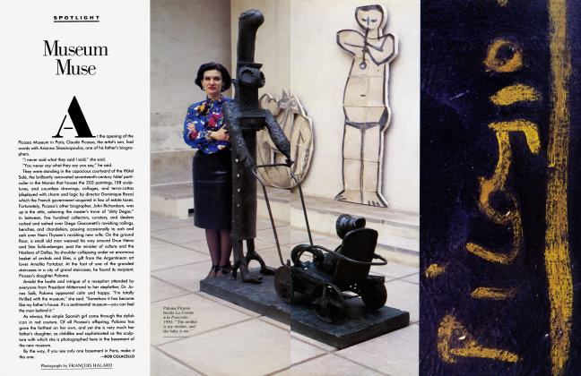 Article Preview: Museum Muse, January 1986 1986 | Vanity Fair