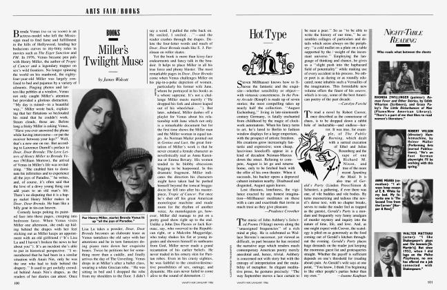 Article Preview: Miller's Twilight Muse, January 1986 1986 | Vanity Fair