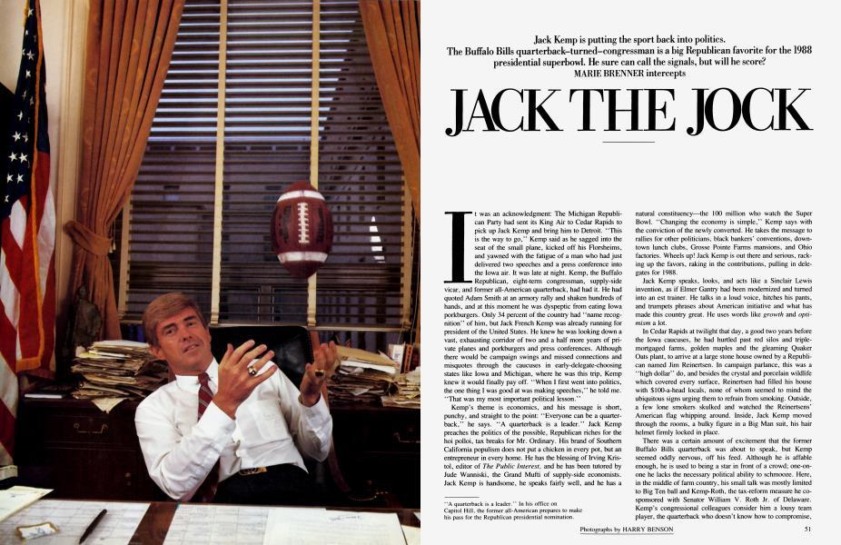 JACK THE JOCK