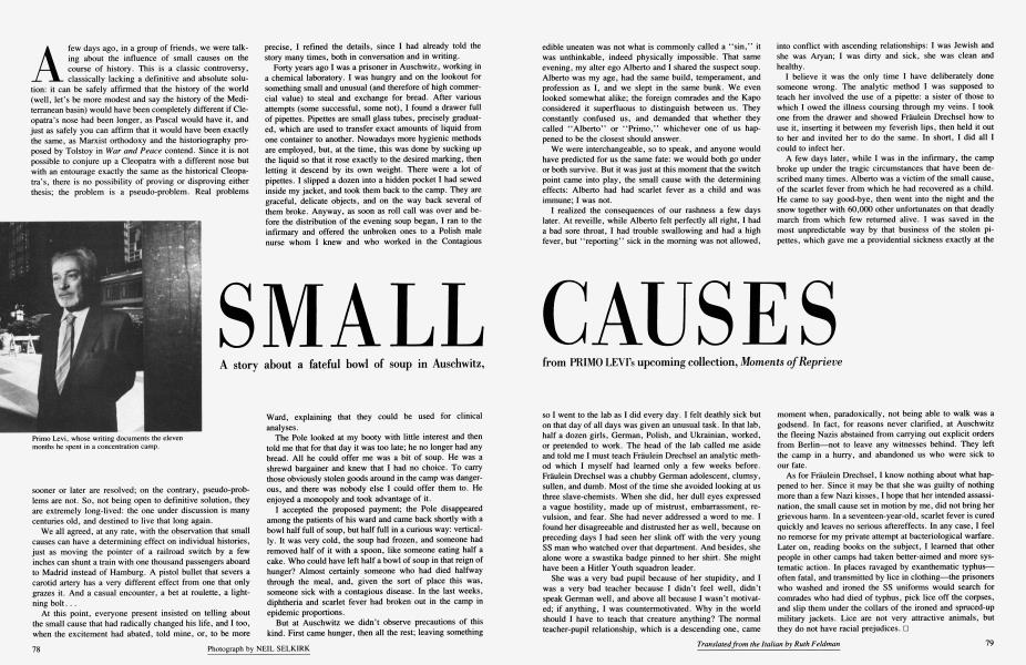 SMALL CAUSES
