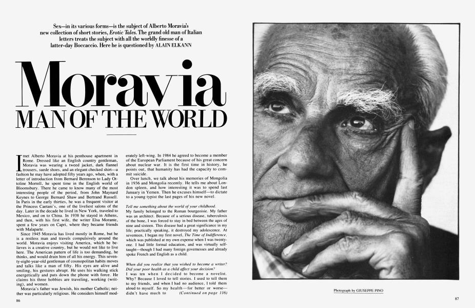 Moravia MAN OF THE WORLD