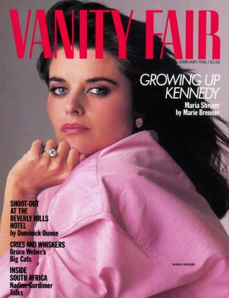 February 1986 | Vanity Fair