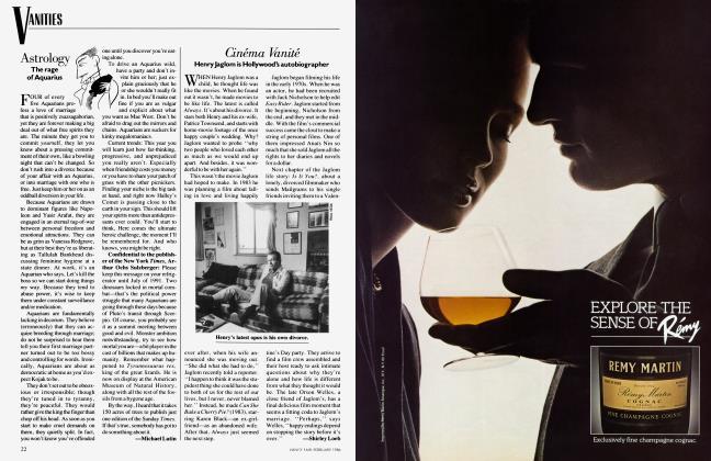 Article Preview: Cinéma Vanité, February 1986 1986 | Vanity Fair