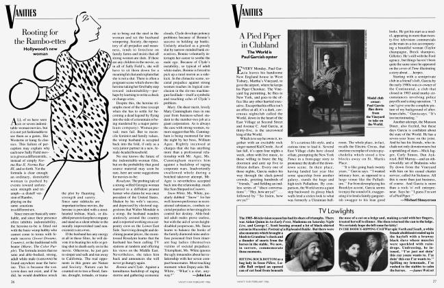 Article Preview: TV Lowlights, February 1986 1986 | Vanity Fair
