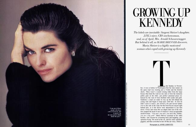 Article Preview: GROWING UP KENNEDY, February 1986 1986 | Vanity Fair