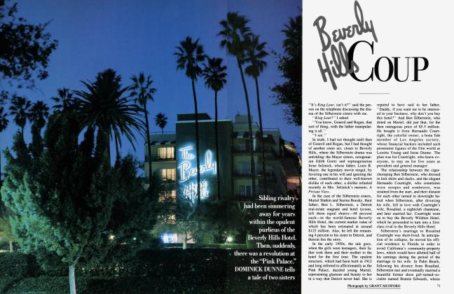 Article Preview: Beverly Hill Coup, February 1986   Vanity Fair