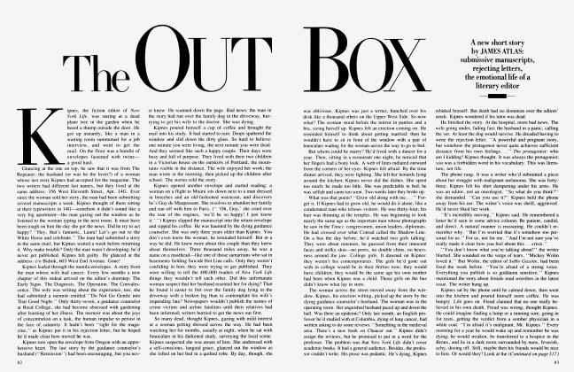 Article Preview: The OUT BOX, February 1986 1986 | Vanity Fair