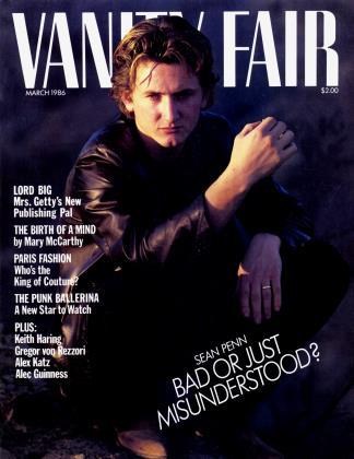 March 1986 | Vanity Fair