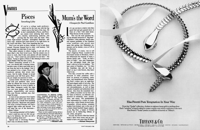 Article Preview: Mum's the Word, March 1986 1986 | Vanity Fair