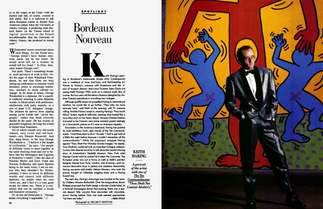 Article Preview: Bordeaux Nouveau, March 1986 1986 | Vanity Fair