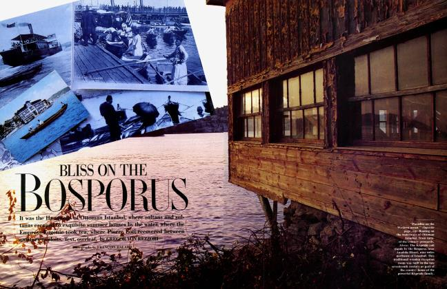 Article Preview: BLISS ON THE BOSPORUS, March 1986 1986 | Vanity Fair
