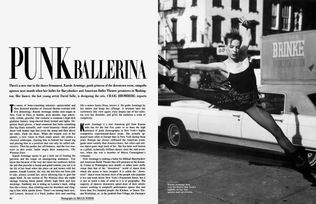 Article Preview: PUNK BALLERINA, March 1986 1986 | Vanity Fair