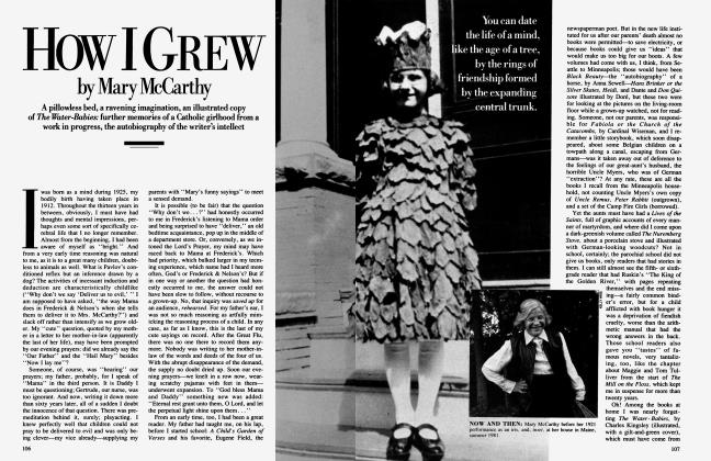 Article Preview: How I GREW, March 1986 1986 | Vanity Fair