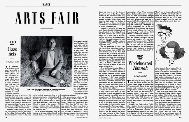 Article Preview: Wholehearted Hannah, March 1986 1986   Vanity Fair