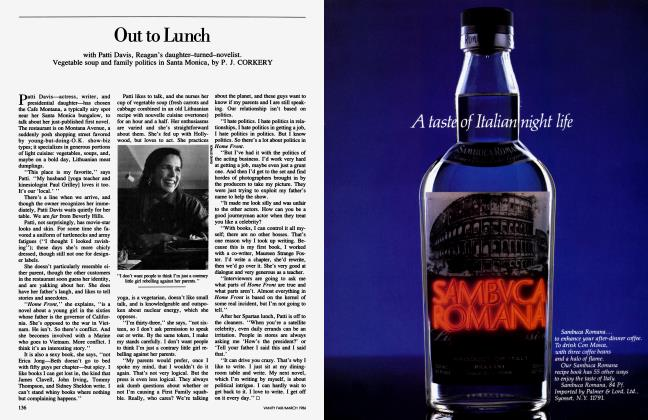 Article Preview: Out to Lunch, March 1986 1986 | Vanity Fair