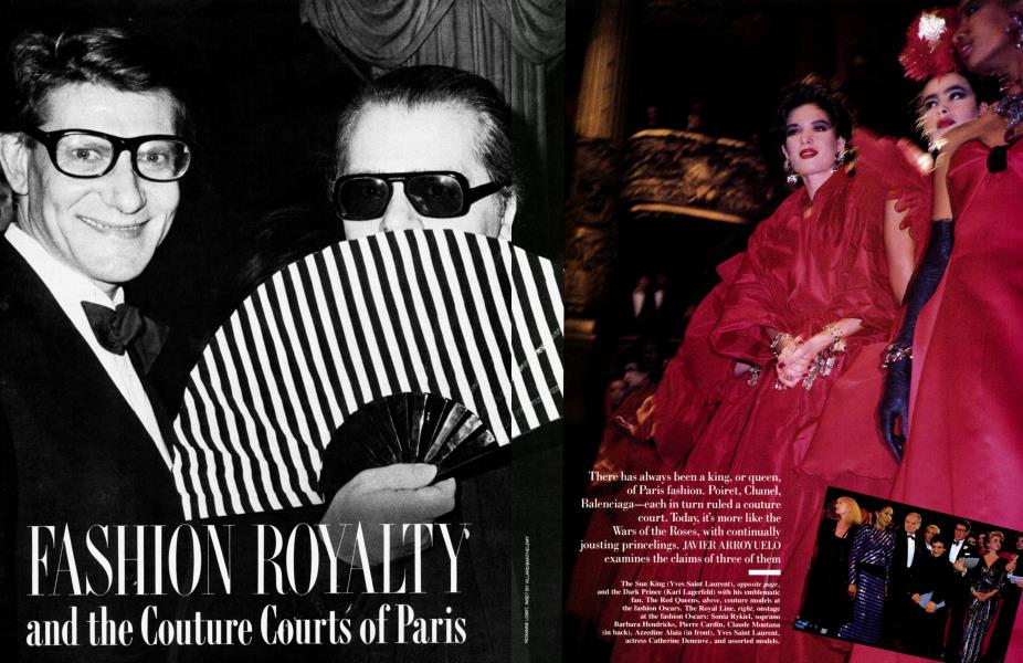 FASHION ROYALTY and the Couture Courts of Paris