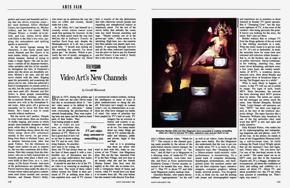 Video Art's New Channels