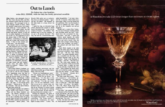Article Preview: Out to Lunch, April 1986 1986 | Vanity Fair