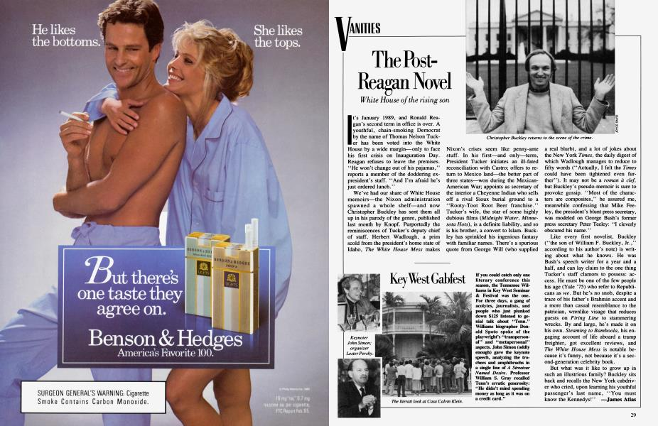 The Post-Reagan Novel