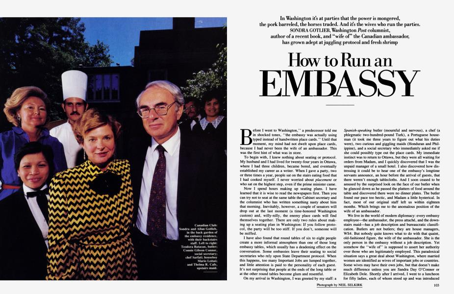 How to Run an EMBASSY