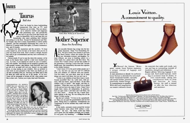 Article Preview: Mother Superior, May 1986 1986 | Vanity Fair