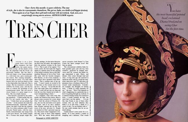 Article Preview: TRÈS CHER, May 1986 1986 | Vanity Fair