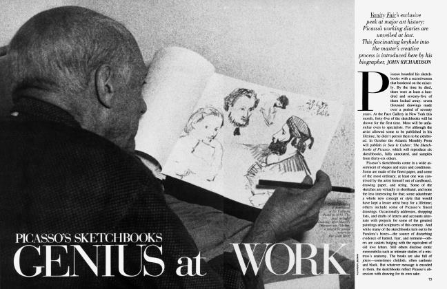 PICASSO'S SKETCHBOOKS GENIUS at WORK