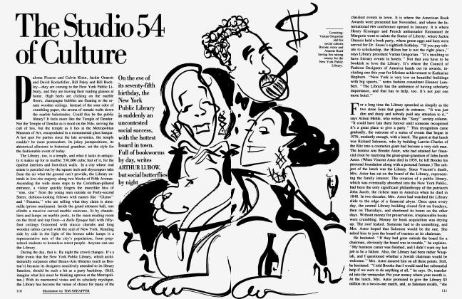 Article Preview: The Studio 54 of Culture, May 1986 | Vanity Fair