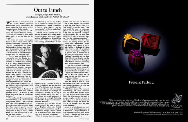 Article Preview: Out to Lunch, May 1986 1986 | Vanity Fair