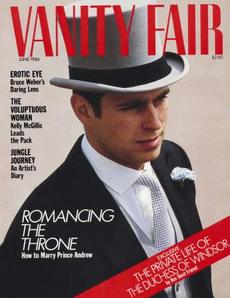 June 1986 | Vanity Fair