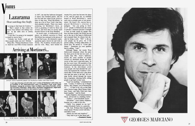 Article Preview: Lazarama, June 1986 1986 | Vanity Fair