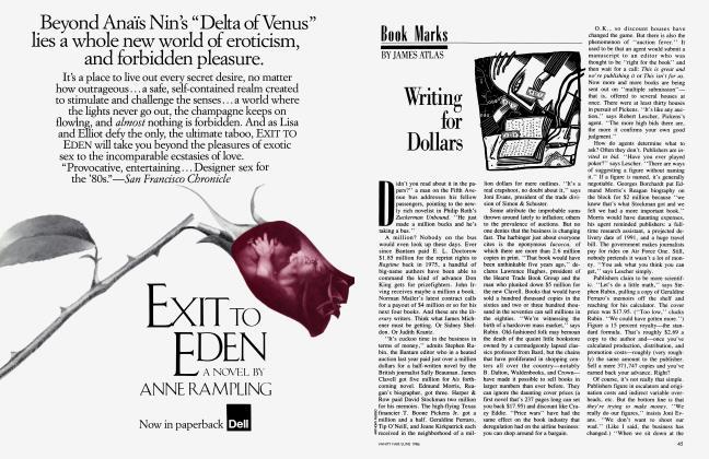Article Preview: Writing for Dollars, June 1986 1986   Vanity Fair