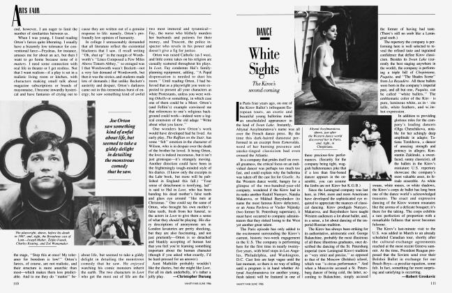 Article Preview: White Sight, June 1986 1986 | Vanity Fair