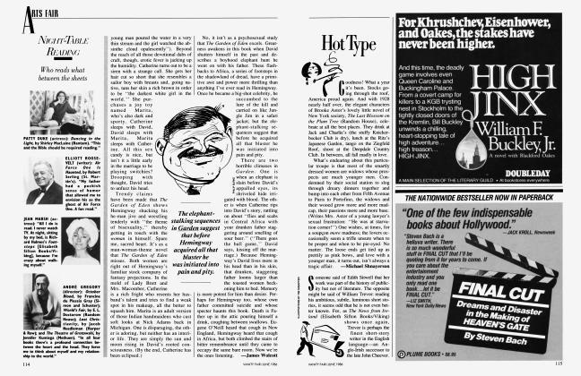 Article Preview: Hot Type, June 1986 1986 | Vanity Fair