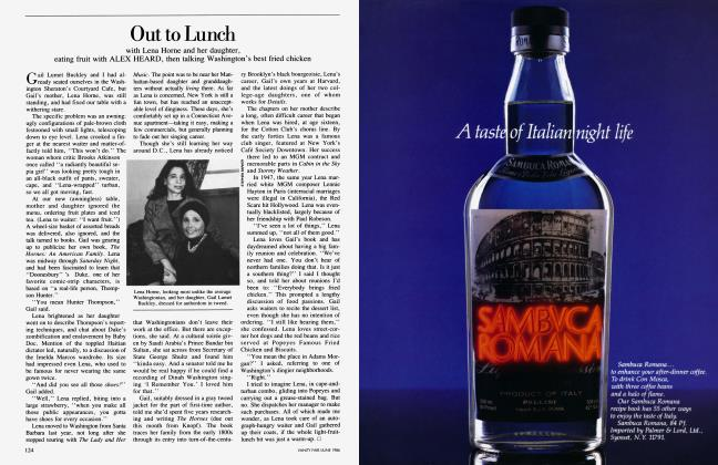 Article Preview: Out to Lunch, June 1986 1986 | Vanity Fair