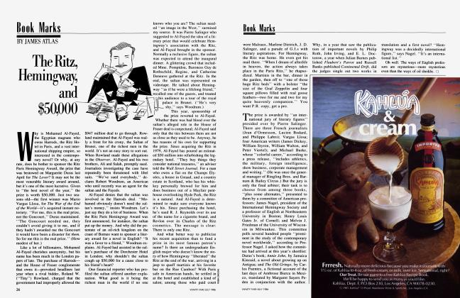 Article Preview: The Ritz, Hemingway, and $50,000, July 1986 1986 | Vanity Fair