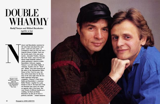 Article Preview: DOUBLE WHAMMY, July 1986 1986   Vanity Fair